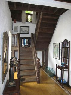Home decored indian style interior ideas 64 new Ideas Filipino Architecture, Philippine Architecture, Filipino Interior Design, Filipino House, Bali, House Stairs, Garden Stairs, Philippine Houses, French Country Dining