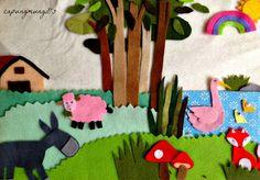 capungmungil camp: How To Make a Felt Illustration?