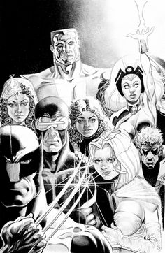 Wolverine and the X-men Comic Art