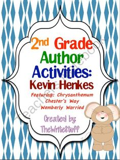 Fall into School with Kevin Henkes - Kevin Henkes is a great author to use at the beginning of the year for author studies or just a back to school literature selection. Win a mini-unit of Kevin Henkes activities to be used with some of his best books! Kevin Henkes Books, School Fun, School Stuff, School Ideas, Common Core Language Arts, First Year Teachers, Teaching Reading, Reading Tips, Elementary Library