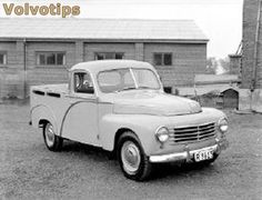 Volvo PV445D pickup Volvo Wagon, Volvo Cars, Hot Rod Trucks, Old Trucks, Commercial Vehicle, Koenigsegg, Automotive Design, Toys For Boys, Cars And Motorcycles