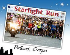 5k Fun Run - Portland - Starlight Run    June 1, 2013    Costume contest! 7 PM    $15 per person, 15 for a shirt, 5 extra dollars after May 20 registration    Run start 7:45 PM