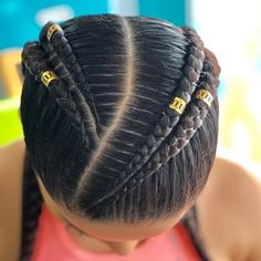 [New] The 10 Best Hairstyles Today (with Pictures) Two Braid Hairstyles, Easy Hairstyles For Long Hair, African Braids Hairstyles, Girl Hairstyles, Curly Hair Styles, Natural Hair Styles, Girl Hair Dos, Hair Due, Braids For Black Hair
