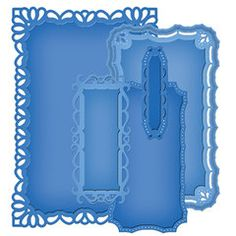 Spellbinders - Nestabilities Collection - Die Cutting and Embossing Templates - Majestic Elements - Resplendent Rectangles