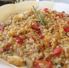 Receita de Risoto na Panela de Pressão - http://www.casarnaoengorda.com.br/recipes/receita-de-risoto-na-panela-de-pressao/