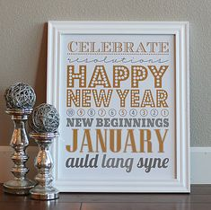 A Year of Free Home Decor Printables