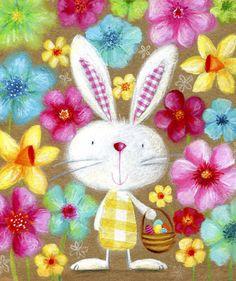 Ileana Oakley - easter rabbit eggs flowers.jpg