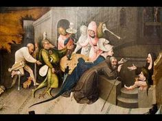 Hieronymus Bosch, Temptations of Saint Anthony detail Hieronymus Bosch Paintings, Temptation Of St Anthony, Medieval, Pieter Bruegel, Dutch Painters, Poster Pictures, Fantastic Art, Amazing, Renaissance Art