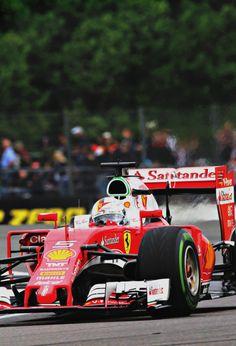 Sebastian Vettel l Great Britain 2016
