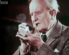 A GIF of J. R. R. Tolkein Smoking a Pipe! And ten facts about the Lord of the Rings.