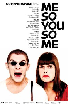 Vancouver Out Innerspace Dance Theatre is on the road for the first National tour of ME SO YOU SO ME
