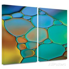 Abstract Canvas Framed Art at AllPosters.com