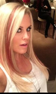 Jenny McCarthy hair - awesome