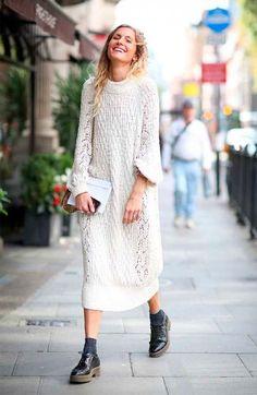 9 motivos pra você investir em um sweater dress