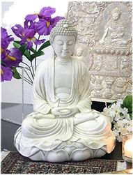 Meditating Buddha.  Feng Shui statue.