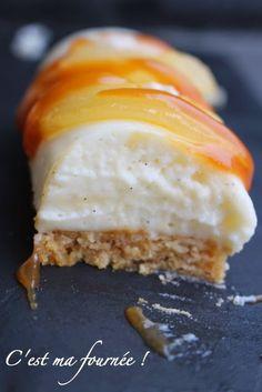 C'est ma fournée !: Mini-bûches poires-spéculoos-caramel                                                                                                                                                                                 Plus