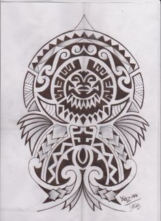 Polynesian tattoo by ~KymYnez on deviantART