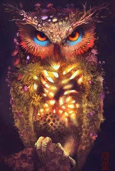 Nature Owl by GONY-04 at DeviantArt.