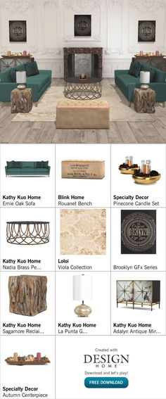 Created with Design Home! Candle Set, House Design, Home Decor, Decoration Home, Room Decor, Architecture Design, Home Interior Design, House Plans, Home Design