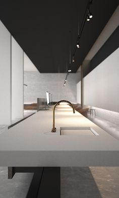Kitchen Design Modern Luxury Behance New Ideas Best Kitchen Designs, Modern Kitchen Design, Interior Design Kitchen, Kitchen Ideas, Interior Design Minimalist, White Interior Design, Contemporary Interior, Luxury Interior, Casa Kardashian