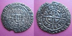Circa 1500,  a superb  Late Issue Henry VII Dublin Groat; IIa, Arched Crown and Tressures. A rare portrait, unusually well drawn for this reign, plus a very rare reverse featuring an 'h' within Trefoils & Cross fourchée. HENRIS DEI GRA RES (J?)ANLIE EN/POSUI etc. D&F 195; S6457. SCBI 22 /404. Not on any P.Finn list. We have only seen one comparable example in recent years. Sturdy flan, glossy patina. GVF-EF.