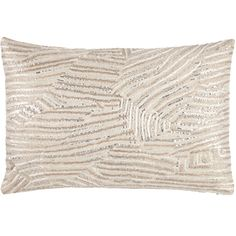 John Robshaw Textiles - Mercury Decorative Pillow - Fold - Pillows $75