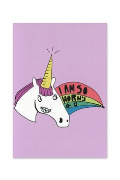 #unicorn.  This has so many meanings no one would get it!!