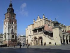 Krakau und der Marktplatz nach dem Winter, Kraków po zimie #krakau #krakow #stadtführung #polen #poland #travel #stadtfuhrung