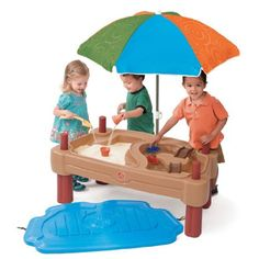 Amazon.com: Step2 Play Up Adjustable Sand Water Table: Toys & Games