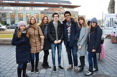 Another Erasmus semester came to an end and as we said our goodbyes we also has a surprise visit from Santa. Surprise Visit, Student Life, Ibs, This Is Us, Students, Winter Jackets, Santa, Christmas, Winter Coats
