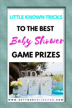 At last, the perfect door prizes for a baby shower! Only some of the best prizes to win by guests. If you are looking for baby shower door prize ideas, ideas for giving away door prize games, or in search of small gifts to hand out to guests. Go here for a helpful guide. #babyshower #babyshowergifts #babyshowerprizes #partyideas