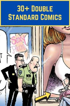 Double standards can be annoying. They can also teach us about how we perceive the world (and what we might still need to work on). Sometimes they can even be funny, especially if you take them with a grain of salt.  Here are 35 double standard comics that we can definitely relate to. Silly Memes, Funny Memes, Viral Trend, Double Standards, Strike A Pose, Project Management, Casual Outfits, Salt, Fashion Dresses