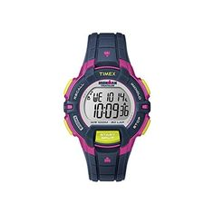 Timex Ironman 30 Lap Rugged Mid Size Watch - Pink/Blue >>> Be sure to check out this awesome product.