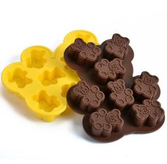 Silicone cake mold easily bear DIY chocolate baking molds handmade soap mold ice cube moulds D905