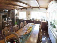 Main house kitchen's table
