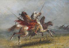 Blackfeet on the Warpath / Alfred Jacob Miller - oil on canvas kp Jacob Miller, Oil On Canvas, Museum, Artist, Painting, Artists, Painting Art, Paintings, Painted Canvas