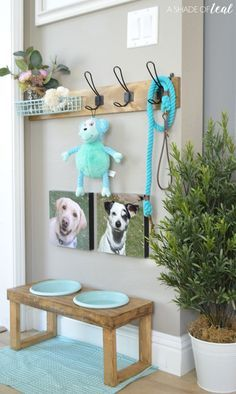 How to make a Dog Leash Holder - Tap the pin for the most adorable pawtastic fur baby apparel! You'll love the dog clothes and cat clothes!