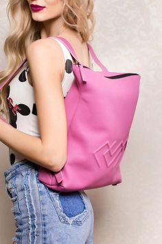 Darcy Mini Backpack in Pink Leather Pink Leather, Leather Bag, Cute Backpacks, Mini Backpack, Leather Accessories, Natural Leather, Italian Leather, Leather Handbags, Fashion Backpack