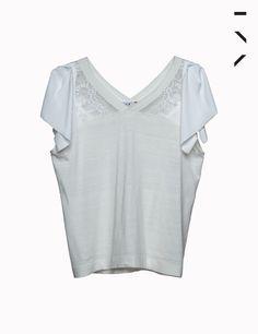 blusa edie off white