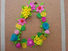 diadema floral para disfraz de hawaiana