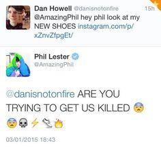 dan and phil tweets - Google Search