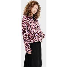 Ugg Mandy Faux Fur Jas voor Dames in Leopard Fairy Tale, maat M - online shoppen - Fashionchick.nl
