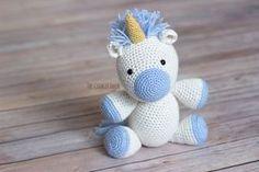 Yet Another Unicorn Free Crochet Pattern