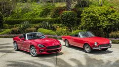 2017 Fiat 124 Spider and Abarth review with horsepower, price and photo gallery