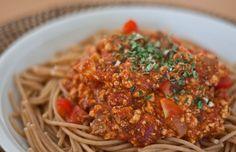 Spaghetti Bolognese | vegane Rezepte in Hauptgerichte