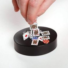 This Magnetic Poker Sculpture Desk Toy will help you stay sane in the office!