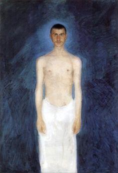 Richard Gerstl · Autoritratto · 1904 · Leopold Museum · Wien