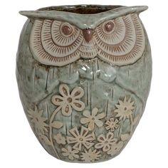 Cute porcelain owl