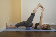 As soon as I get a yoga block I'm doing these yoga poses to open up my hips and get better posture.
