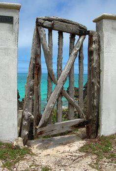 Ocean Sea:  A gate to the sea.